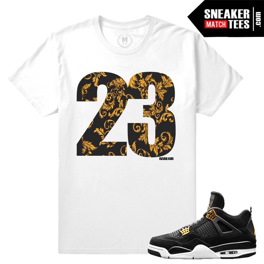 T shirt design jordan - Sneaker Match Tees Jordan 4 Royalty