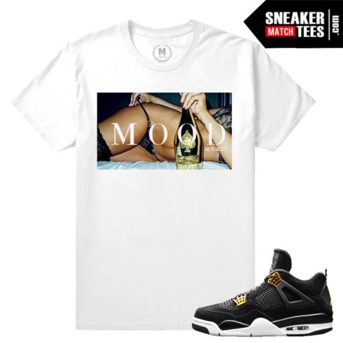 Sneaker Tees Matching Royalty 4 Jordan Retros
