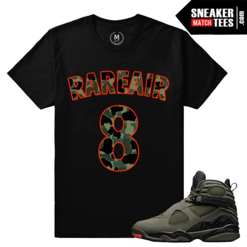 Sneaker Tee Shirt Match Jordan 8