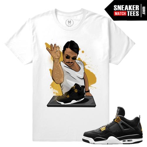 Sneaker match royalty 4 Air Jordan Retro 4