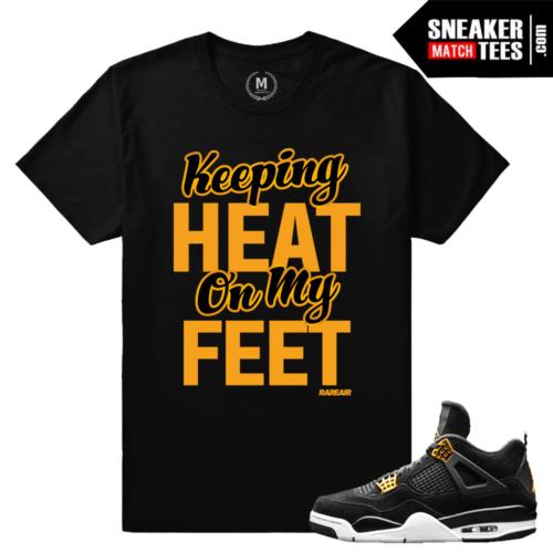 T shirt Matching Jordan 4 Royalty