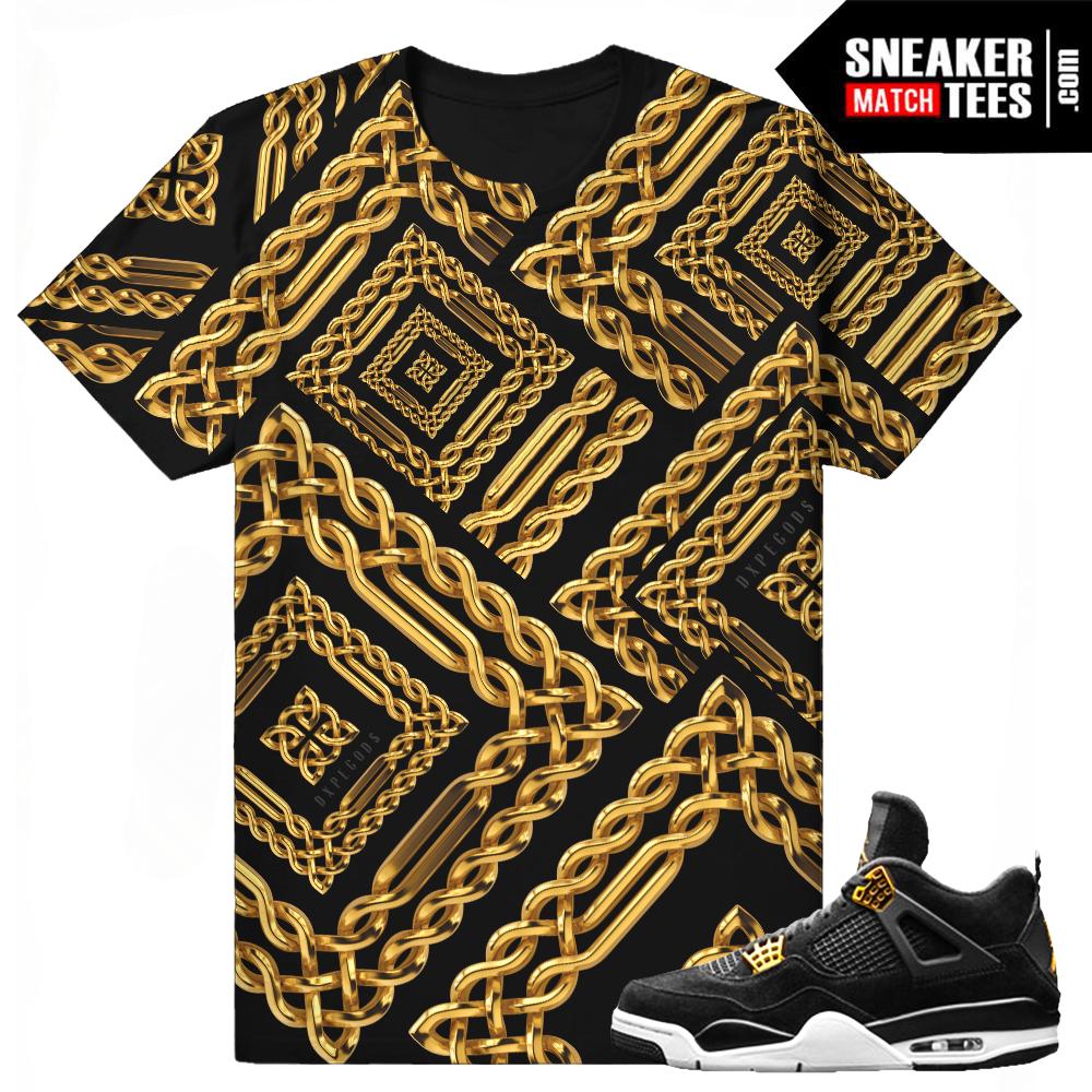 T shirt design jordan - T Shirts Match Royalty 4 Jordan Retros