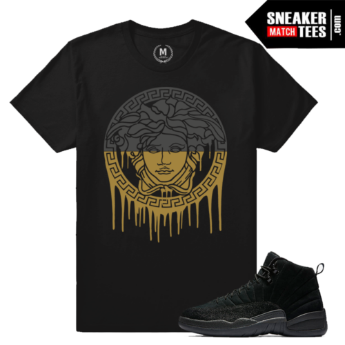 Air Jordan 12 OVO BLack T shirt