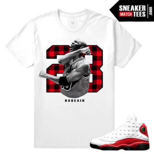 Air Jordan 13 Chicago Cherry Match T shirt