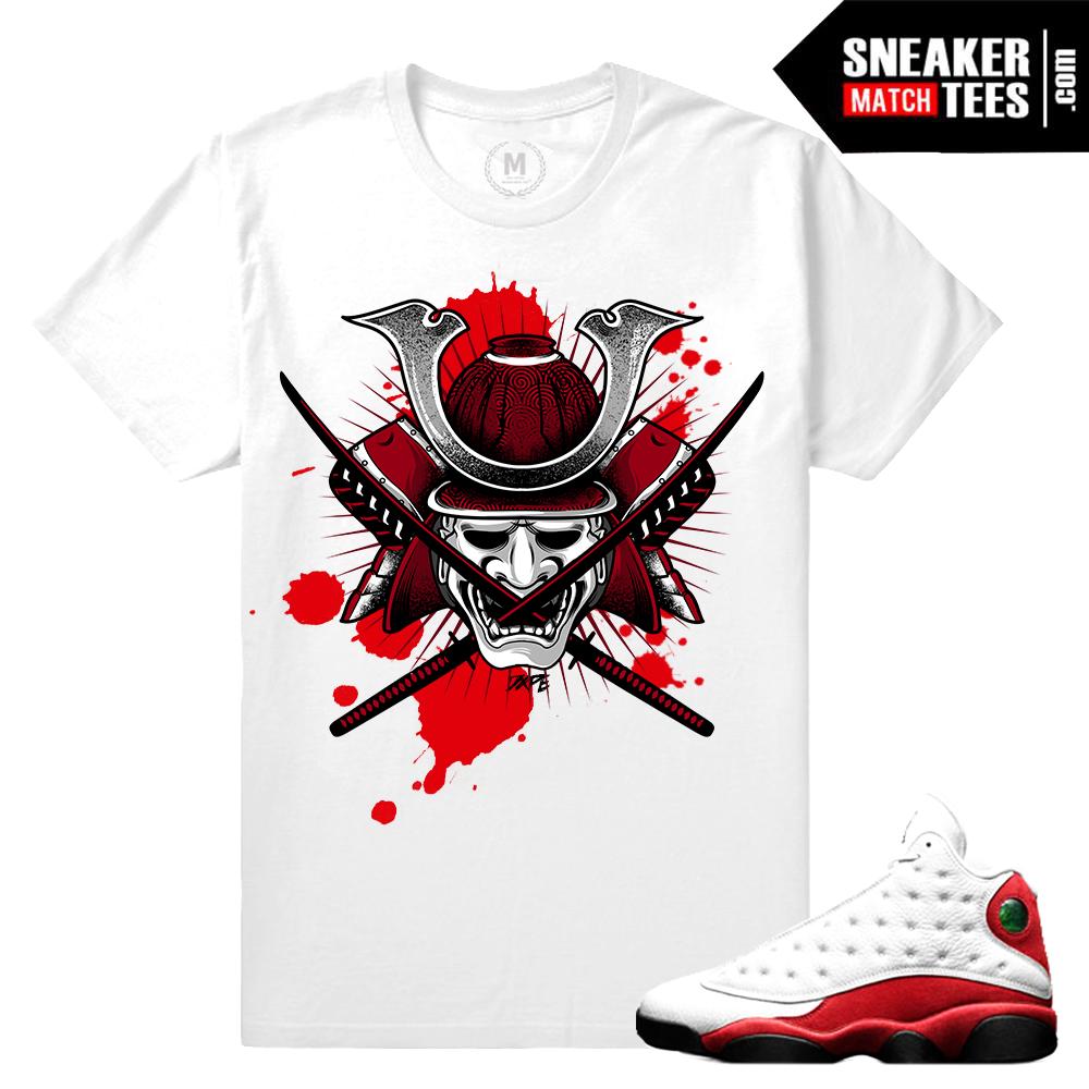 T shirt design jordan - Air Jordan 13 Chicago Tee Shirt