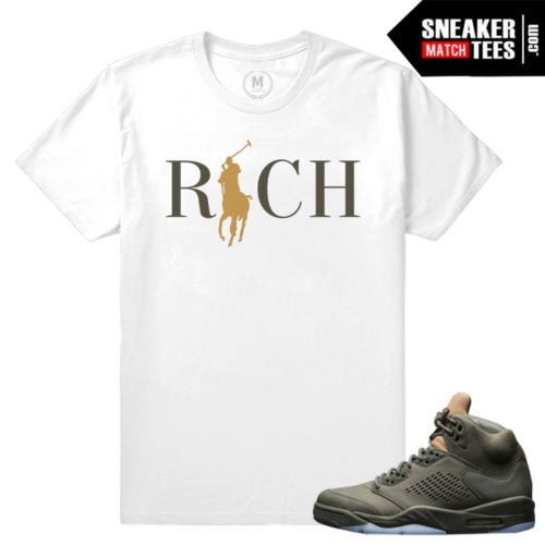 Air Jordan 5 Sneaker Tees Take Flight