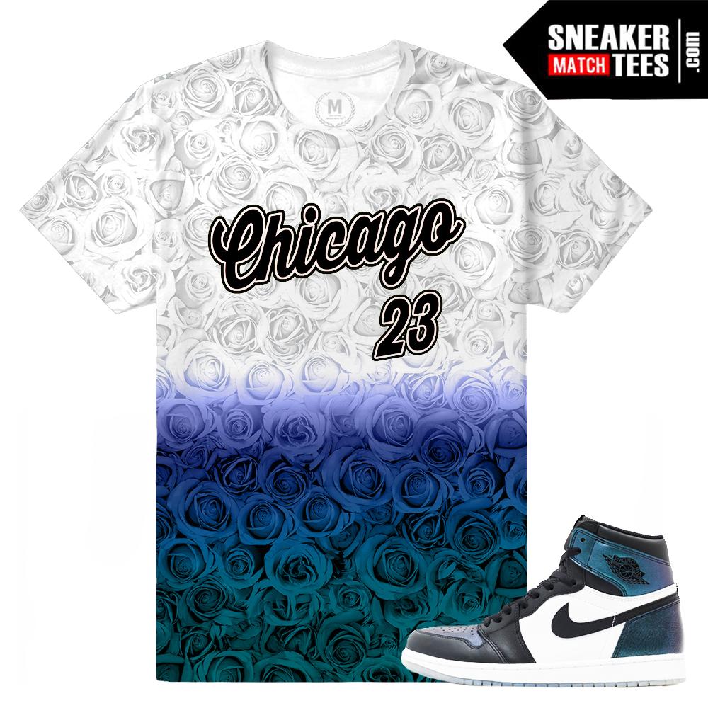 T shirt design jordan - Jordan 1 Chameleon All Star Matching T Shirt
