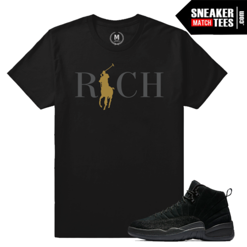 Jordan 12 OVO Black T shirt