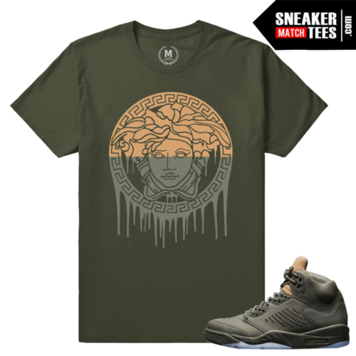 Jordan 5 Take Flight Matching sneaker shirts