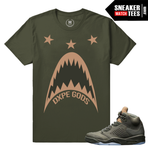 Jordan 5 Take Flight Retro t shirt