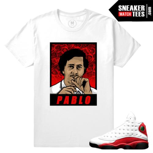Jordan Retro 13 Chicago T shirts