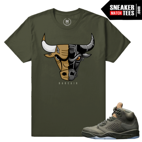 Match Tee Shirt Jordan 5 Take Flight