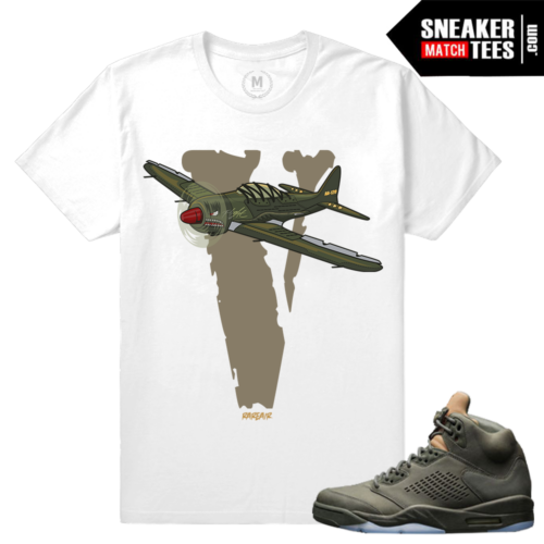 Shirts Matching Air Jordan 5 Take Flight
