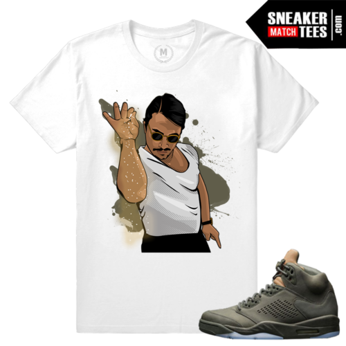 Sneaker Tees Air Jordan 5 Take Flight