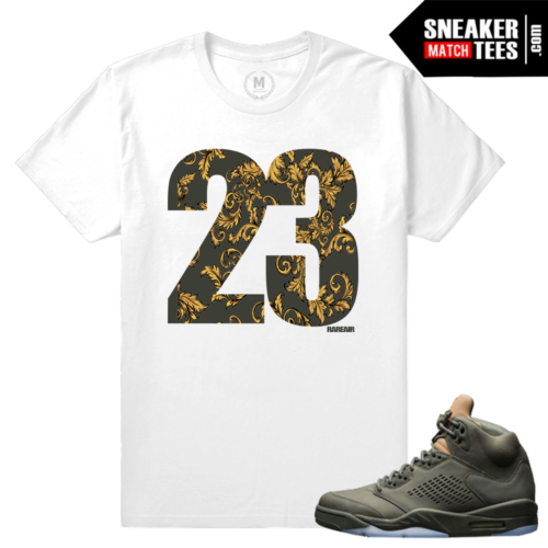 Sneaker Tees Match Jordan 5 Take Flight