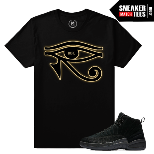 Sneaker match Shirt OVO 12 Black