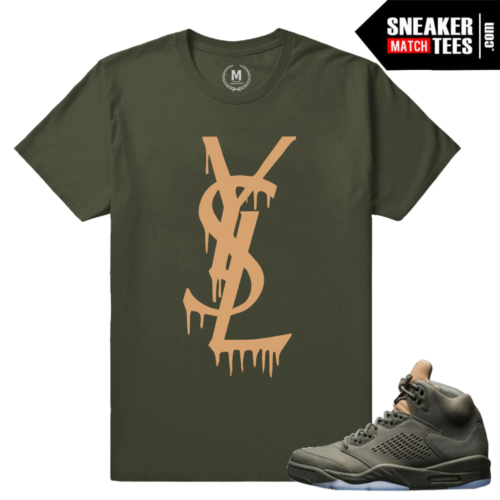 Sneaker tees Match Air Jordan Take Flight 5s