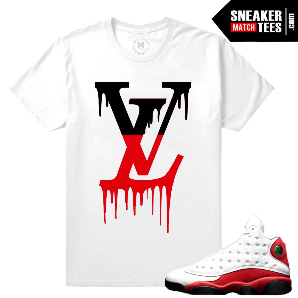 100% authentic 5ec48 3cf90 ... Sneaker Match Tees T shirts Match Air Jordan 13 Chicago ...