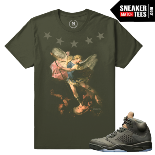 Take Flight 5s Matching Sneaker shirt tee
