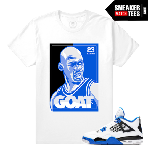 Air Jordan 4 Motorsport Matching tee shirt