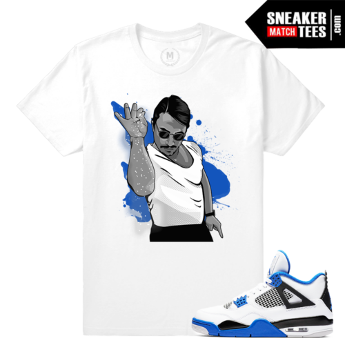 Air Jordan 4 Motorsport Sneaker shirt