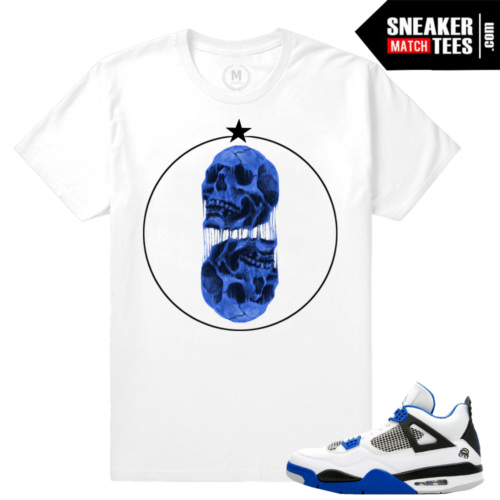 Air Jordan 4 Motorsports Sneaker tees