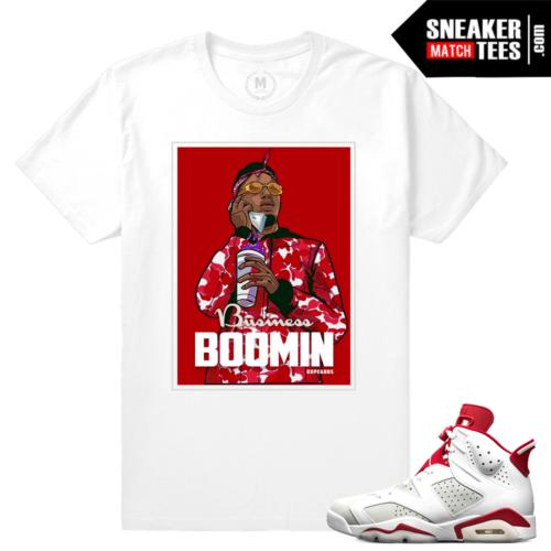 Air Jordan 6 Alternate Sneaker tee Shirt