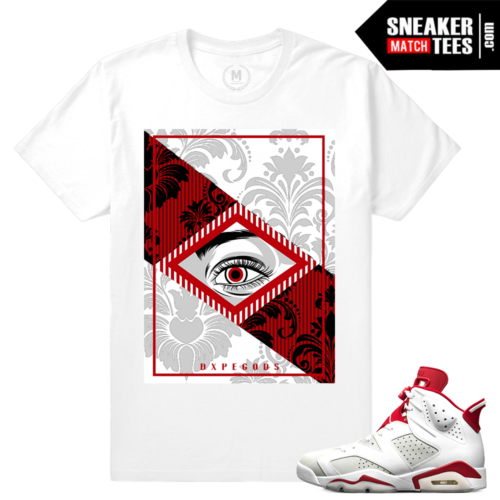 Air Jordan 6 Alternate T shirt Match