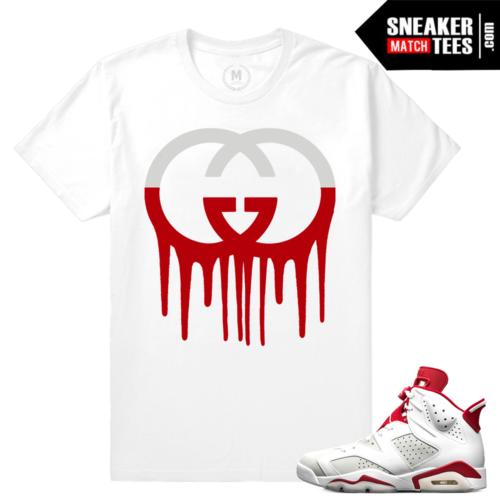 Air Jordan 6 Alternate matching tee shirt