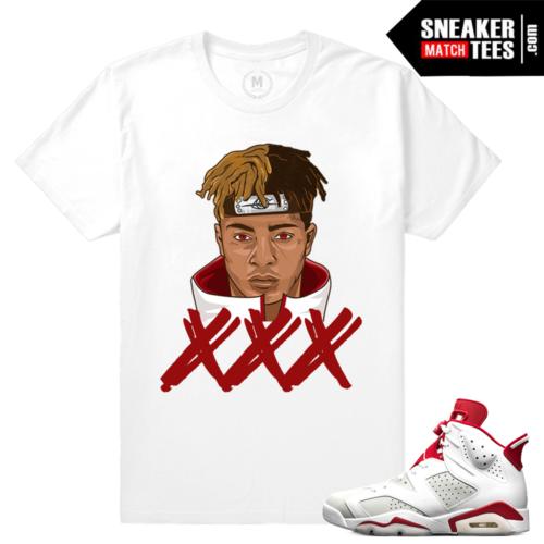 Alternate 6s Match xxxTentacion t shirt