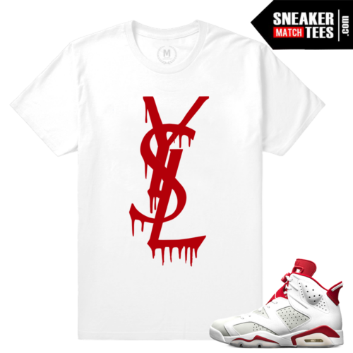 Jordan 6 Alternate shirts Match