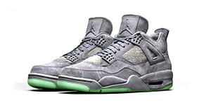 Kaws Jordan 4 T Shirts Match Sneakers