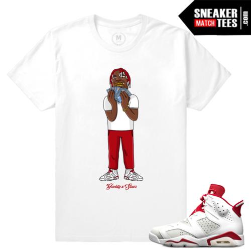 Match Air Jordan 6 T shirt Lil Yachty