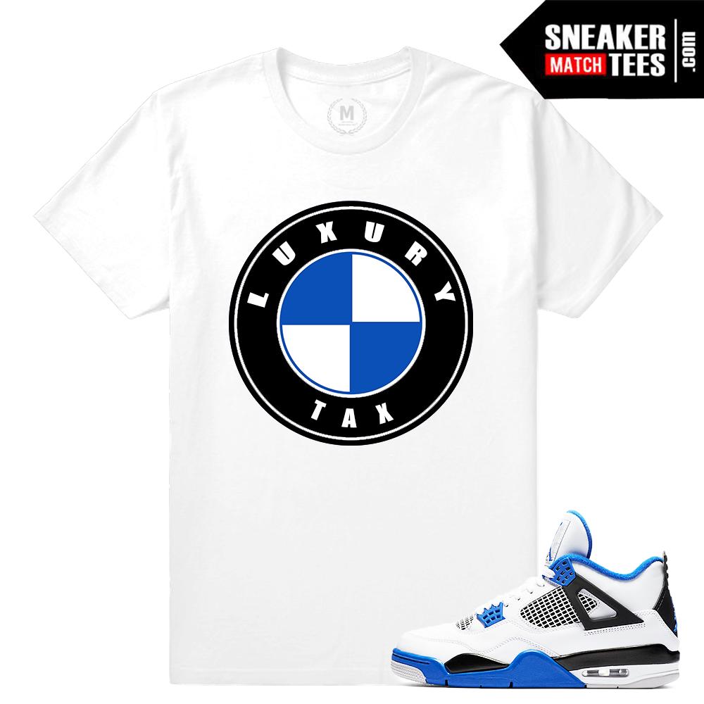 Match Air Jordan Motorsport 4s   Sneaker Match Tees