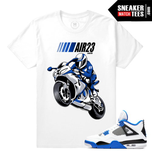 Match T shirt Motorsport 4 Jordans