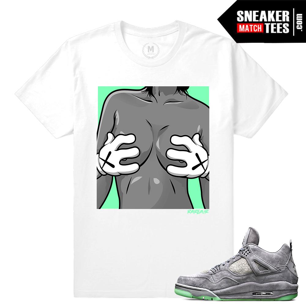 db974ecf2360 Air Jordan Retro 4 Green Glow Shirt