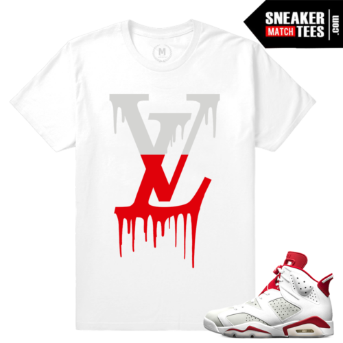 Sneaker tees Alternate 6s t shirts