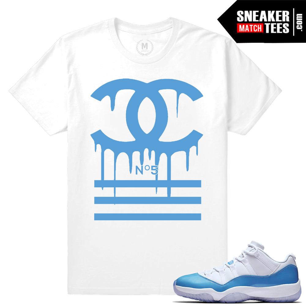 air jordan 11 aqua shirts