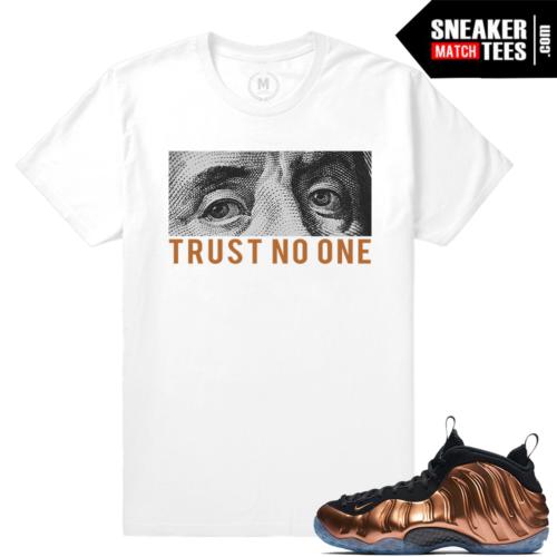 Copper Foams Match Sneaker T shirts