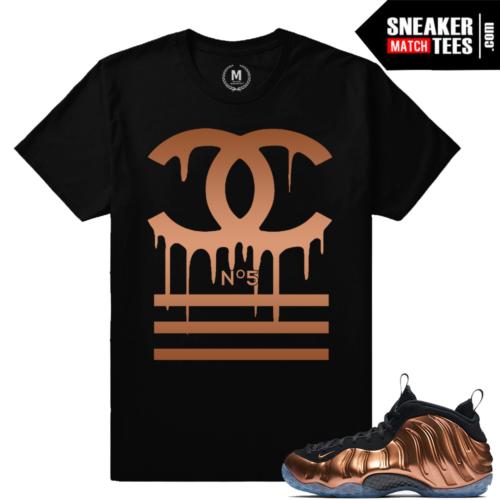 Copper Foams tee shirt Matching