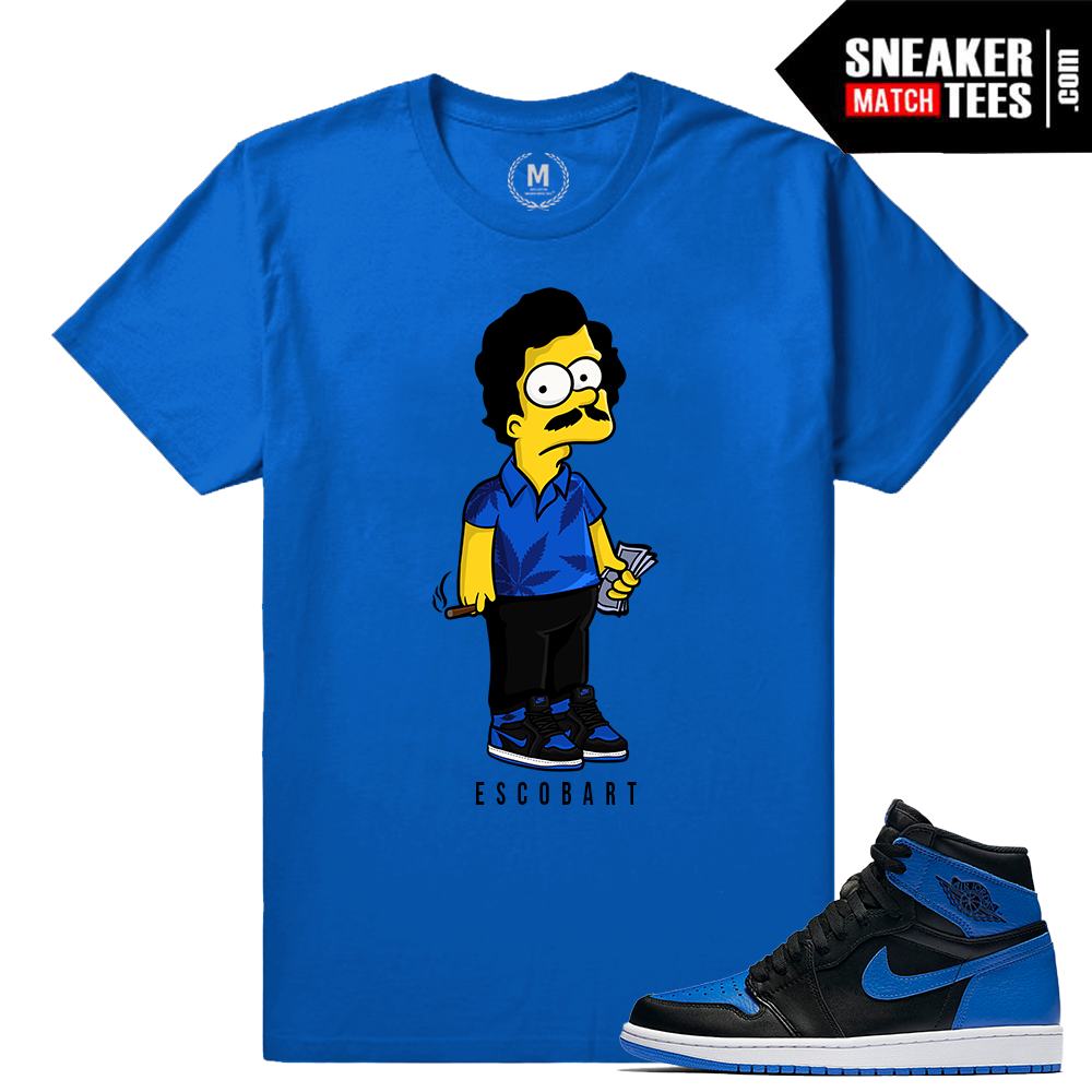 jordan 1 royal og sneaker shirt tee sneaker match tees ForJordan Royal 1 Shirt