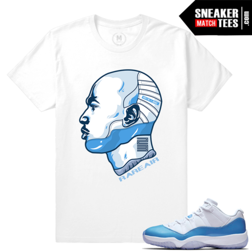 Jordan 11 Low UNC t shirt