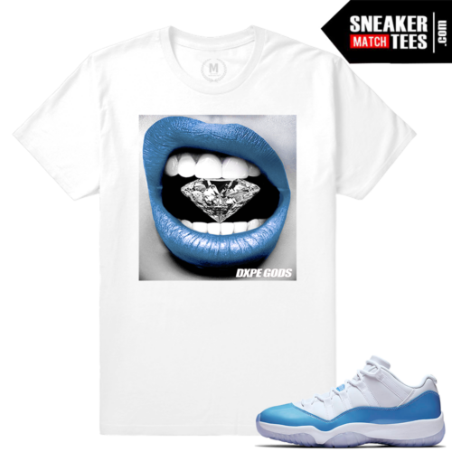 Jordan 11 University Blue T shirt