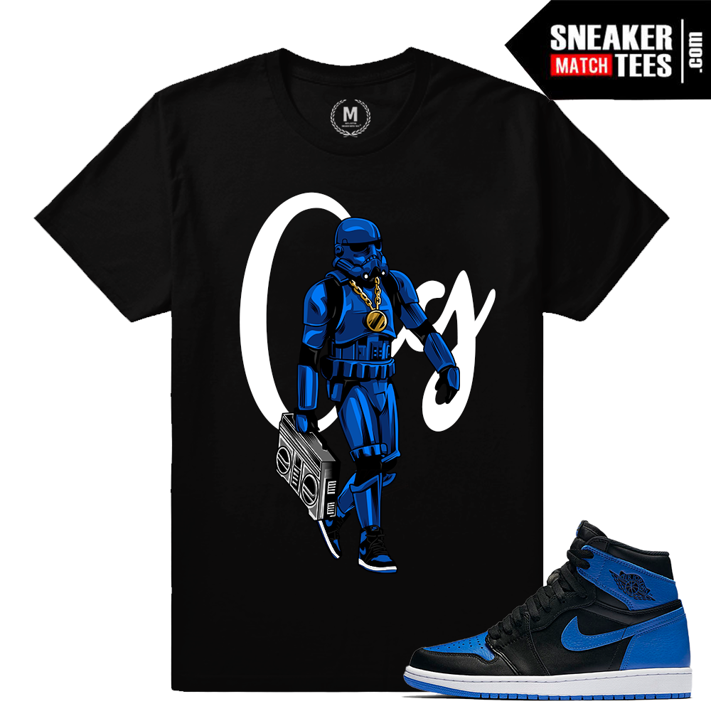 Match Royal 1s Jordan Sneakers