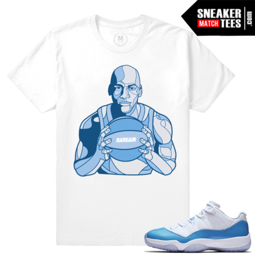 Match UNC 11 Low Jordan T shirts