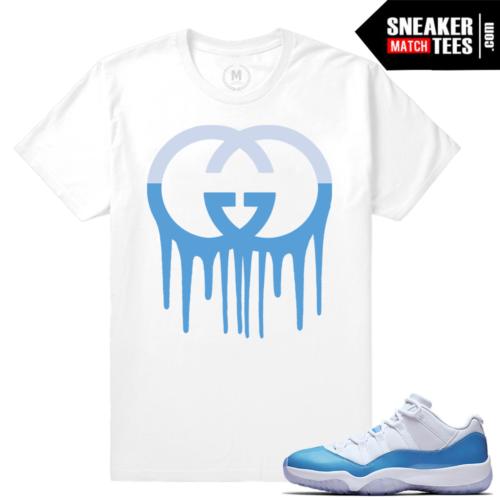 Match University Blue Jordan 11