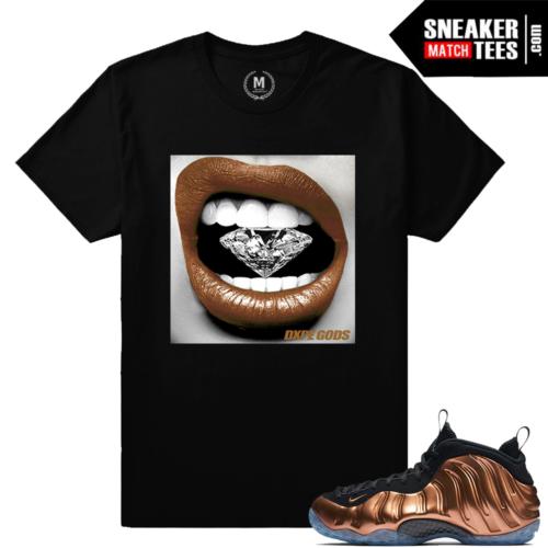 Match t shirt Nike Foams Copper