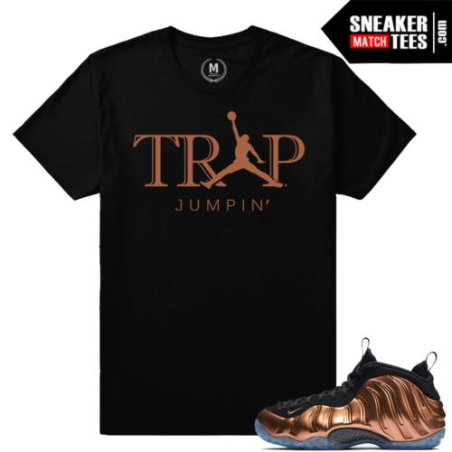 Shirts Match Copper Foamposite Nike