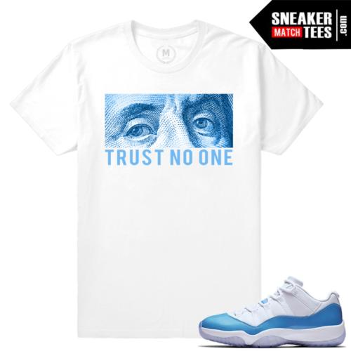 Shirts Matching Jordan 11 UNC Lows