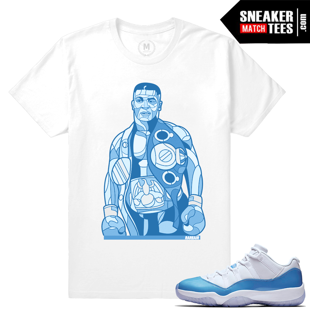Shirts matching unc 11 low jordan retro sneaker match for We are jordan unc shirt